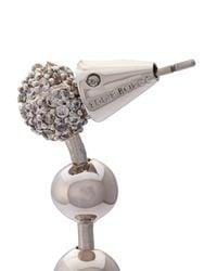 Eddie Borgo - Multicolor Short Ball Chain Drop Earrings - Lyst