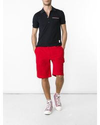 Thom Browne - Multicolor Chest Pocket Shortsleeved Shirt for Men - Lyst