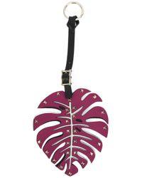 Valentino - Multicolor Leaf Bag Charm - Lyst