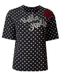 Dolce & Gabbana   Black Blouse   Lyst