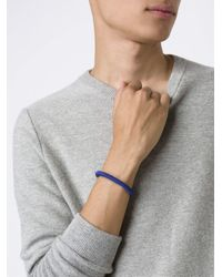 M. Cohen - Blue Woven Bracelet for Men - Lyst
