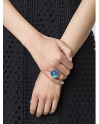 Eddie Borgo - Blue 'dhalia' Mood Ring - Lyst