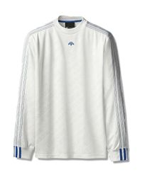 Alexander Wang - White Football Jersey Long Sleeve for Men - Lyst