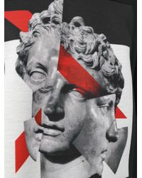 Neil Barrett - Black Geometric Sculpture Sweatshirt for Men - Lyst