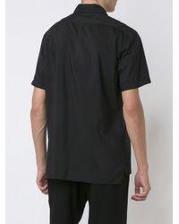 Lanvin - Multicolor Contrast Stitch Shirt for Men - Lyst