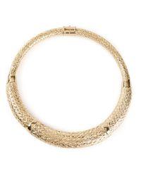 Aurelie Bidermann - Metallic Lafayette Necklace - Lyst