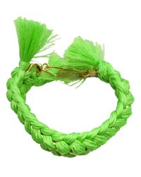 Aurelie Bidermann - Green 'do Brasil' Bracelet - Lyst