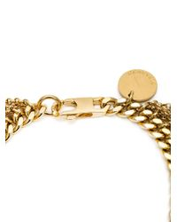 Nina Ricci - Metallic Fringed Chain Bracelet - Lyst