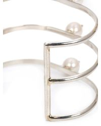 Nektar De Stagni - Multicolor Spike Pearl Cuff - Lyst
