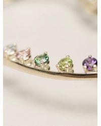 Delfina Delettrez - Multicolor Multicolour Dots Earring - Lyst
