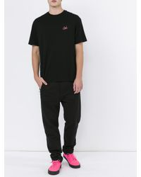 Alexander Wang - Black Subtle Slogan T-shirt for Men - Lyst