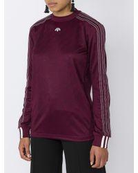 Alexander Wang - Purple Soccer Long Sleeved T-shirt for Men - Lyst