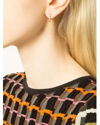 Anita Ko   Multicolor Emma Dangling Stud Earrings   Lyst