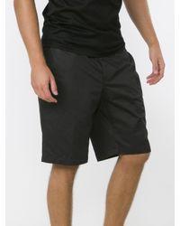 Lanvin - Black Chino Shorts for Men - Lyst