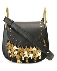 Chloé - Multicolor Mini 'hudson' Fringed Shoulder Bag - Lyst