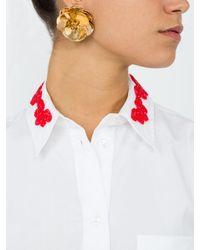 Eddie Borgo - Multicolor Sikka Blossom Earrings - Lyst