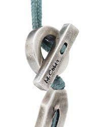 M. Cohen - Multicolor Twist Hook Bracelet for Men - Lyst