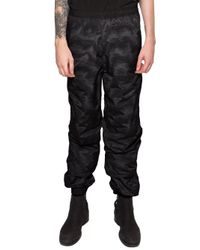 Y. Project | Black High-waisted Track Pants for Men | Lyst