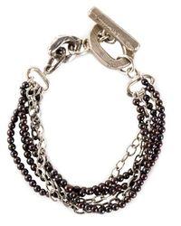 Henson | Metallic Multi-strand Bracelet | Lyst