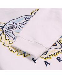 KENZO - Tiger Sweatshirt White for Men - Lyst