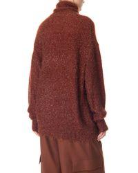Tibi - Blue Gleam Turtleneck Sweater for Men - Lyst