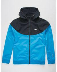 Imperial Motion - Blue Larter Tech Fleece Navy & Royal Mens Jacket for Men - Lyst