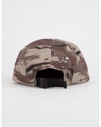 Vans - Brown Davis Camo Mens Camper Hat for Men - Lyst