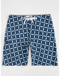 Rhythm - Blue Guru Mens Boardshorts for Men - Lyst