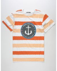 Pink Dolphin - Multicolor Wave Stripe Mens T-Shirt for Men - Lyst