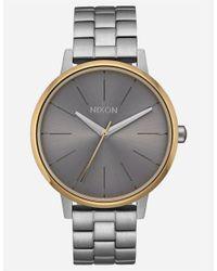 Nixon - Metallic Kensington Watch - Lyst
