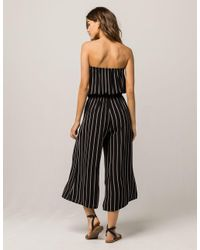 27d7c9db5364 Gallery. Previously sold at  Tillys · Women s Black Jumpsuits Women s  Striped ...