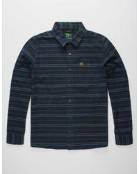 Hippy Tree - Blue Vista Mens Shirt for Men - Lyst