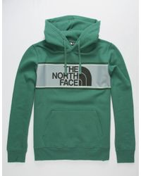 The North Face - Green Edge To Edge Hoodie for Men - Lyst