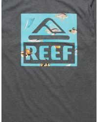 Reef - Multicolor Bay Mens T-shirt for Men - Lyst