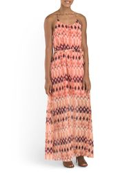 Tj Maxx - Multicolor Lena Printed Maxi Dress - Lyst