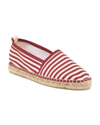 Tj Maxx - Red Made In Spain Sylvia Espadrille - Lyst