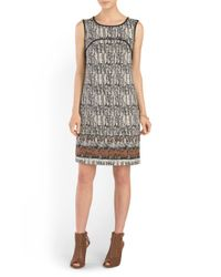 Tj Maxx - Multicolor Printed Dress - Lyst