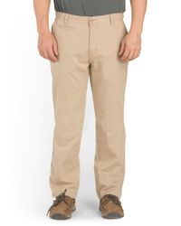 Tj Maxx - Natural Slim Fit 5 Pocket Chino Pant for Men - Lyst