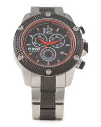 Tj Maxx - Metallic Men's Aventura Chronograph Watch With Black Accents for Men - Lyst