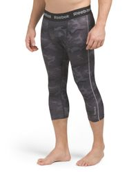 Tj Maxx - Black Core Camo Compression Pant for Men - Lyst