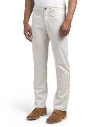Tj Maxx - Gray Fulton Peached Twill Chino Pant for Men - Lyst