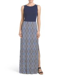 Tj Maxx - Blue Melbrook Maxi Dress - Lyst