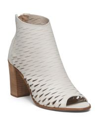 Tj Maxx - Multicolor Made In Italy Leather Peep Toe Shootie - Lyst