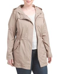 Tj Maxx - Multicolor Plus Brushed Twill Anorak - Lyst