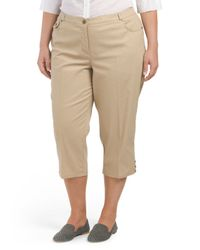 Tj Maxx - Natural Plus Marcella Capri - Lyst