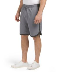 Tj Maxx - Gray Paceline Printed Short for Men - Lyst