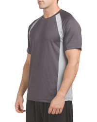 Tj Maxx - Gray Tucker Short Sleeve Top for Men - Lyst