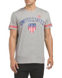 Tj Maxx - Gray Us Printed T Shirt for Men - Lyst