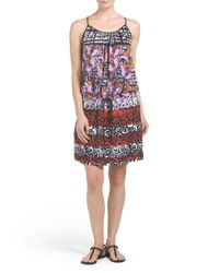 Tj Maxx - Multicolor Made In Usa Floral Fields Dress - Lyst