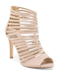 Tj Maxx - Natural Strappy High Heel Sandal - Lyst
